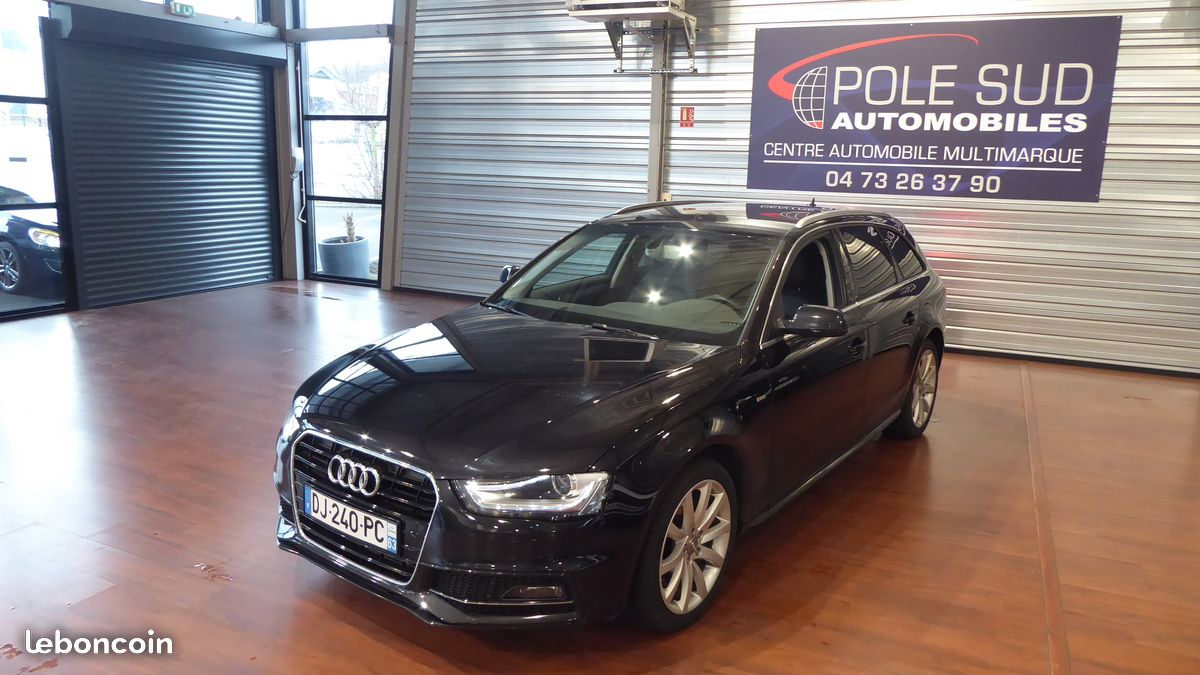 audi a4 avant 2 0tdi 177 ambition luxe pack sline pole sud automobile. Black Bedroom Furniture Sets. Home Design Ideas