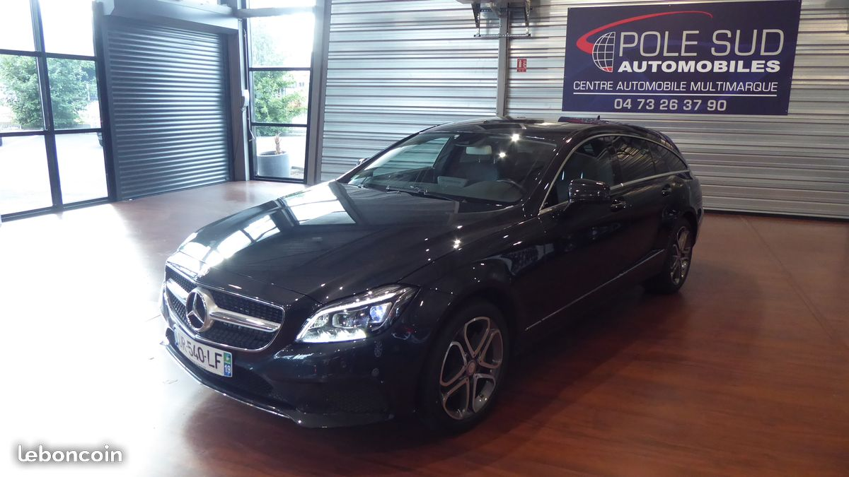 mercedes cls 350 shooting break 4 matic 7g tronic pole sud automobile. Black Bedroom Furniture Sets. Home Design Ideas
