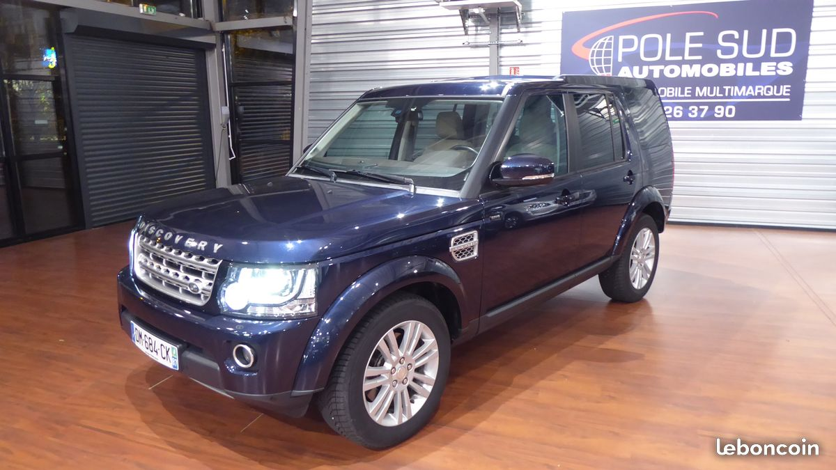 land rover discovery 3 0 sdv6 hse prenium 7 places pole sud automobile. Black Bedroom Furniture Sets. Home Design Ideas